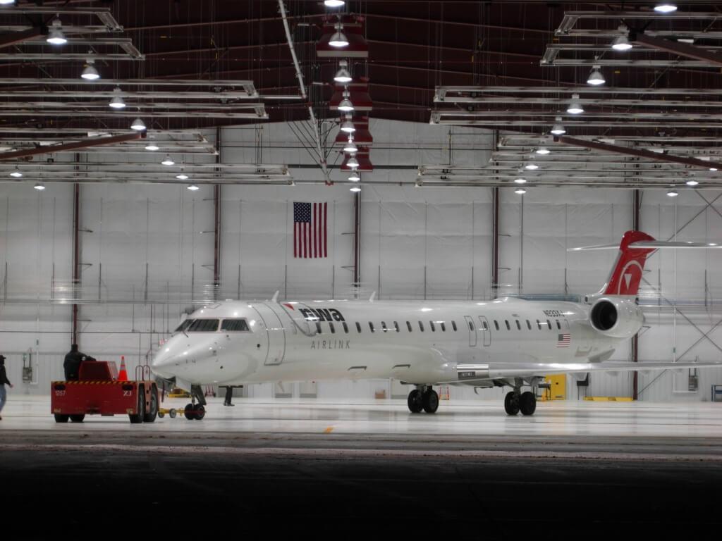 Mesaba Airplane Hangar
